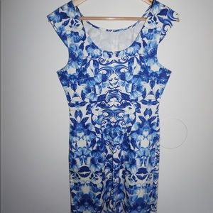Forever 21 Dresses - Blue and white floral dress